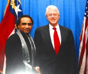 Ram-Tirath-US-President-Bill-Clinton