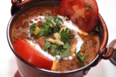 Daal Makhani dish displayed in a bowl