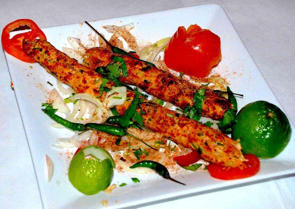 Tandoori food item displayed in a plate