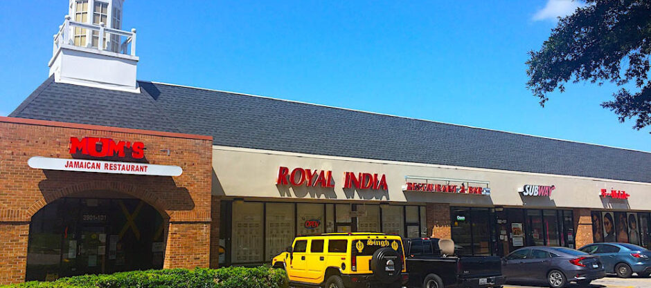 This picture depicts exterior view of Raleigh's Indian Restaurant - Royal India that has been serving Triangle since 1990